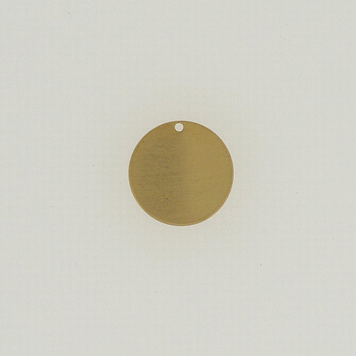 Brass Disc with Hole
