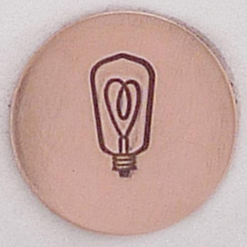 Light Bulb Stamp Sample