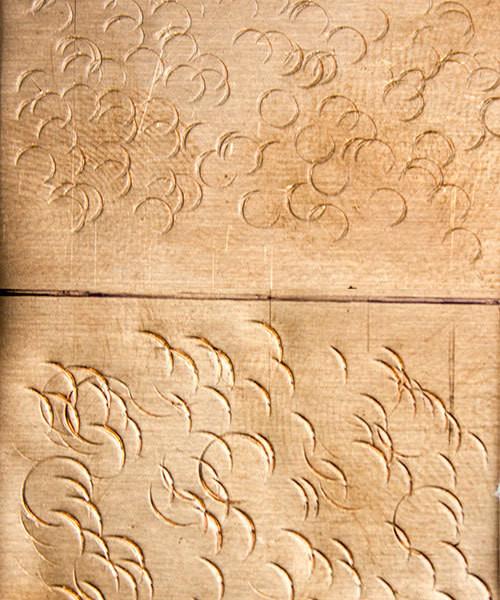 """Fretz Texturing Hammer - """"Circle Imprints"""" (HMR-15)"""