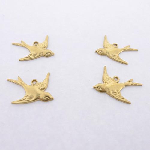 Brass Swallows - Left