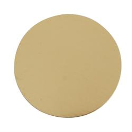 Brass Blank Discs, 3/8-Inch