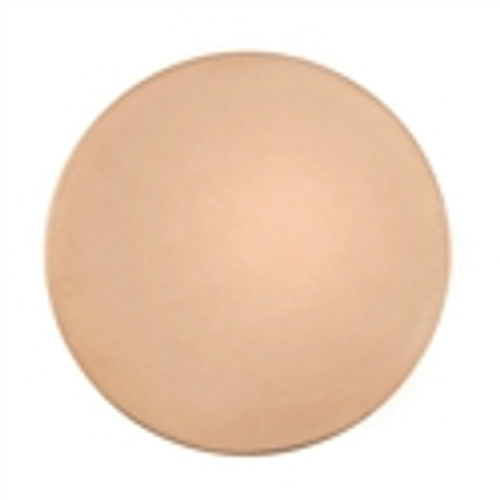 Copper Blank Discs, 3/8-Inch