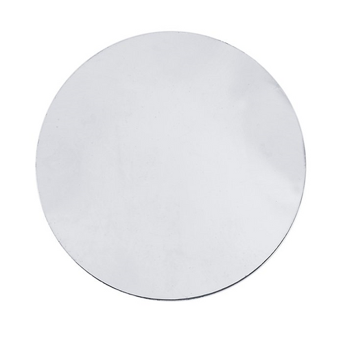 Sterling Silver Blank Discs, 1/2-Inch