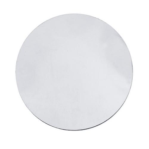 Sterling Silver Blank Discs, 1/2-Inch