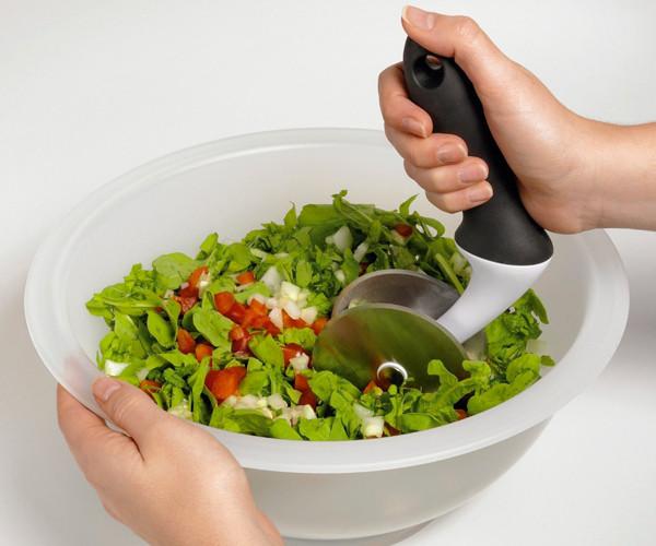Salad Chopper and Bowl