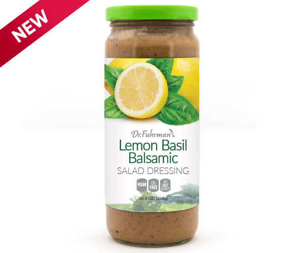 Lemon Basil Balsamic Salad Dressing