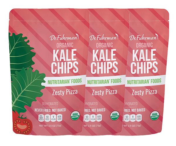 Organic Kale Chips- Zesty Pizza