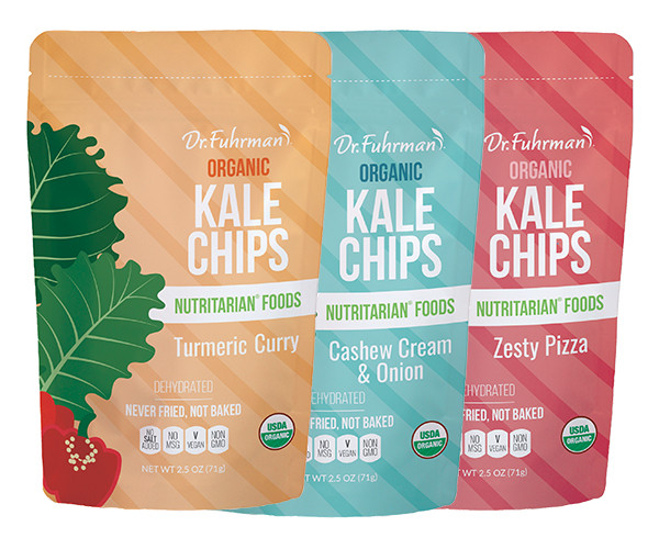 Organic Kale Chips - Variety Pack
