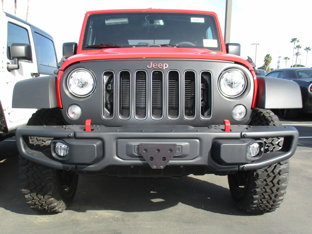 2012-2018 Jeep Wrangler JK with metal bumper