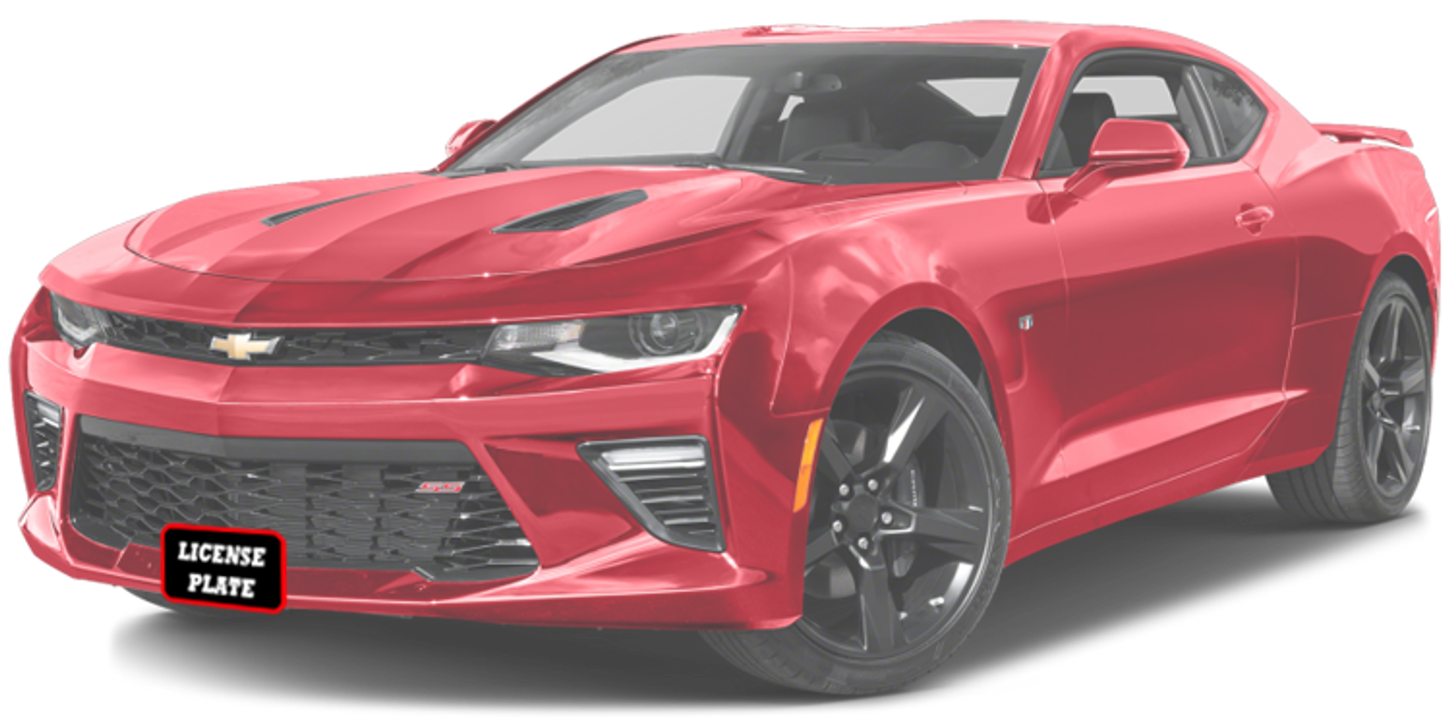 RS 2LT 1SS 2016 Chevrolet Camaro 1LT 2SS Sto-N-Sho Removable Take Off Front License Plate Frame Bracket by StonSho
