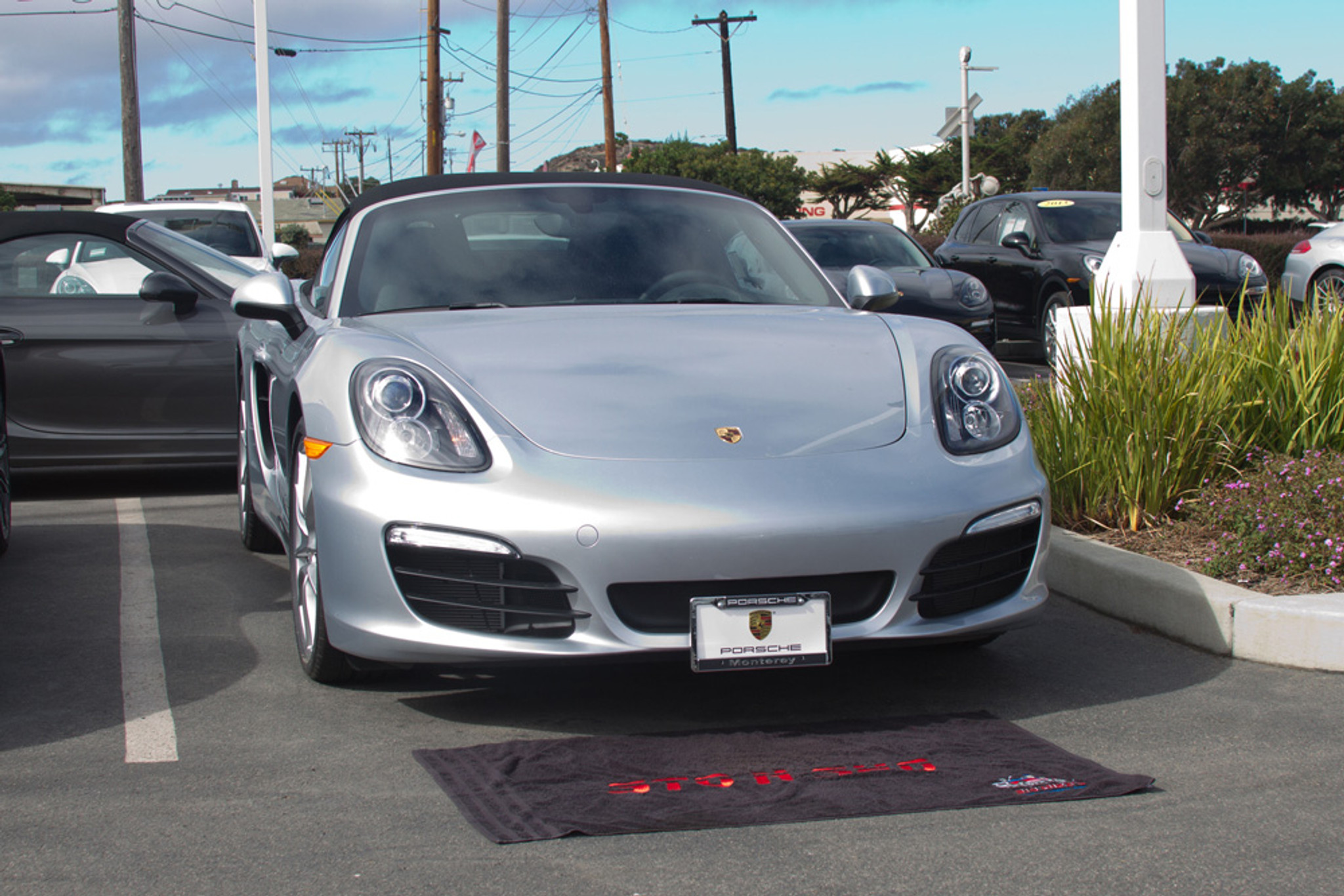 STO-N-Sho Porsche Boxster 2014-2016 Removable License Plate