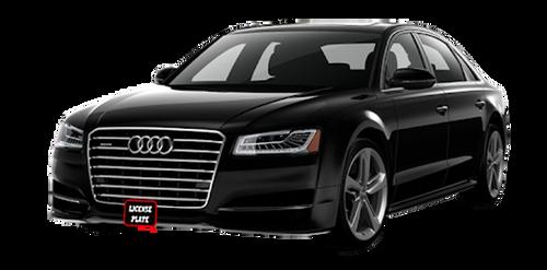 2011-2016 Audi A8 Removable License Plate Bracket