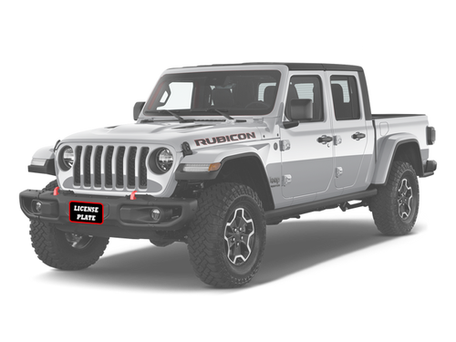 2018-2020 Jeep Wrangler JL with metal bumper