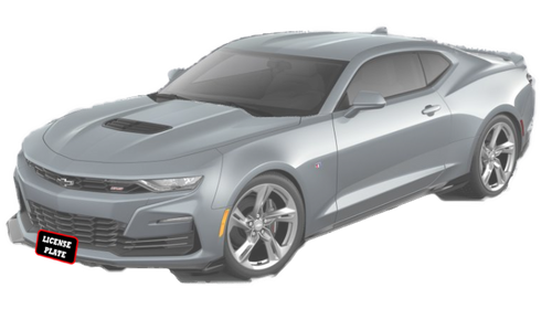 2020 Camaro with factory ground effects