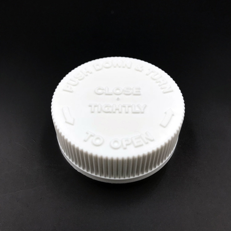 38-400 Child Resistant lid - top view