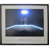 """The Hustler"" LED illuminated billiards artwork"