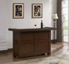 Pasadena Bar | American Heritage Billiards Pasadena Bar | Weathered Brown Finish | 600093MAH