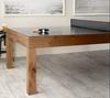Parsons Table Tennis | Ping Pong | Natural Oak | Brunswick