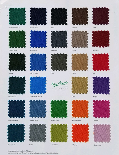Cloth Color Selection