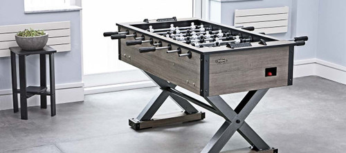 Premier Foosball Table | 2-4 players | Weathered Oak | Brunswick