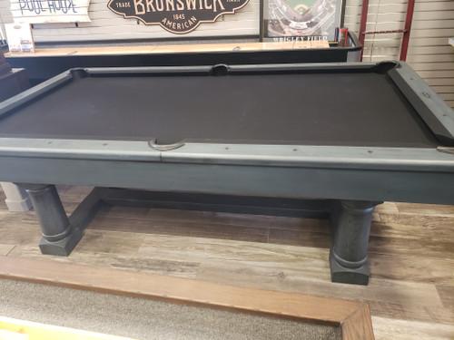 Nantucket Pool table   8 Foot   Titan Blue   Brunswick