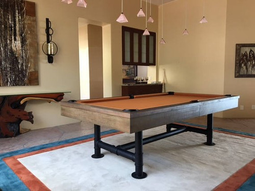Bedford Pool Table 8ft. on Special Desert Chestnut
