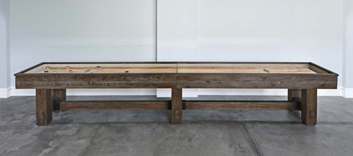 Merrimack Shuffleboard | 12/14/16 foot | Nutmeg finish | Brunswick Billiards