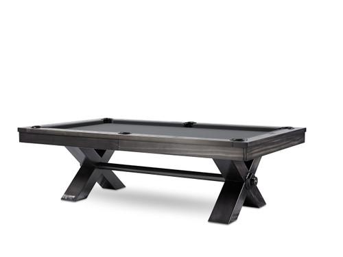 Vox Steel Pool Table | 8 Foot | Plank and Hide | P&H | SKU #28008-Gun
