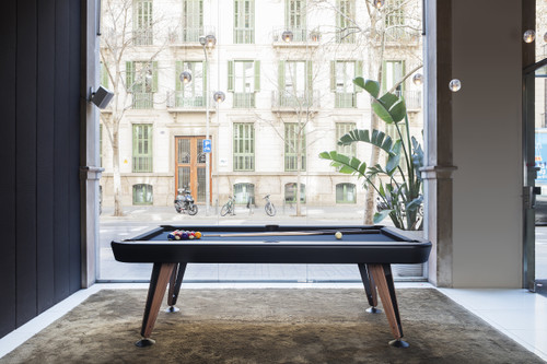 Diagonal Pool Table | 7 or 8 Foot | 5 Colors | Optional Dining Top | RS Barcelona