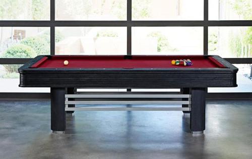 Brooklyn Pool Table | 8 Foot | Black Wire Brush Finish | Brunswick