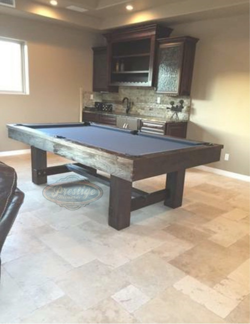 Reno Pool Table | 7 or 8 foot | Weathered Dark Chestnut | Imperial Int. | SKU# 0029-2920278