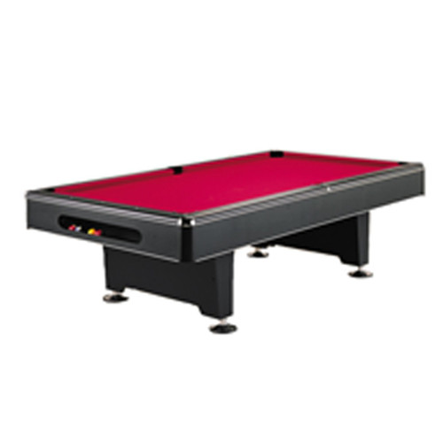 8 ft red and black pool table: The Imperial Eliminator