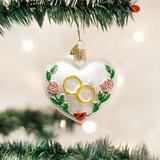 Wedding Heart ornament
