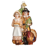 Pilgrim Thanksgiving ornament