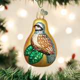 Partridge In A Pear ornament