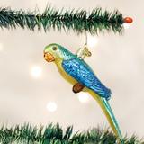 Parakeet ornament