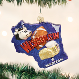 State of Wisconsin ornament