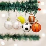 Mini Sports Ball ornaments assorted