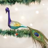 Magnificient Peacock ornament
