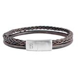 Denby Leather Bracelet -brown