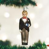 Groom (blonde) ornament