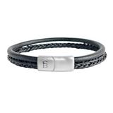 Denby Leather Bracelet -black