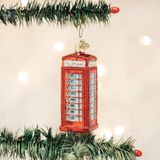 English Phone Booth ornament