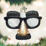 Funny Face Glasses ornament
