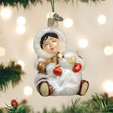 Eskimo Giggles ornament