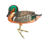 Green-Winged Teal Duck ornament