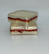 Peanut Butter & Jelly Sandwich ornament