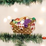 Picnic Basket clip-on ornament