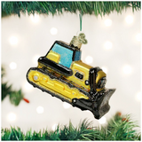 Toy Bulldozer ornament