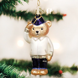 Veteran Bear ornament